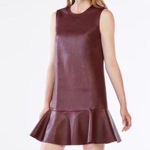Bcbg port colored dress never worn